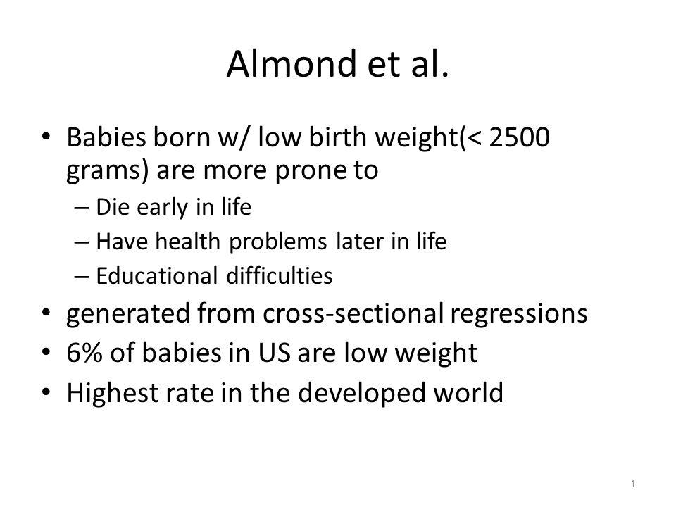 1 Almond et al.
