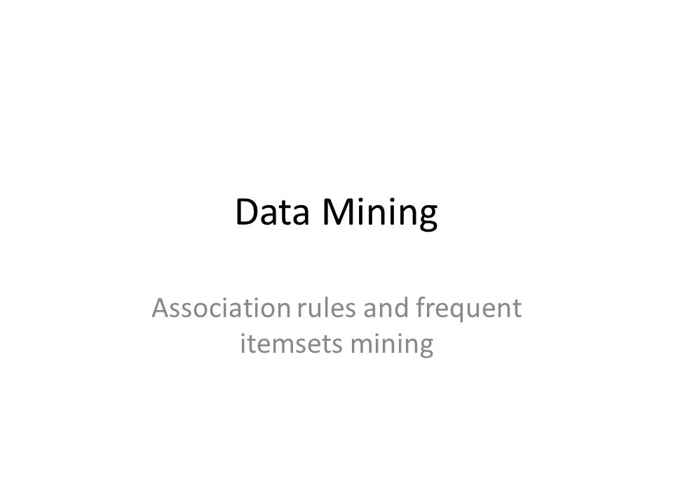Data Mining concepts Is the computational process of discovering patterns in very large datasets (rules, correlations, clusters) Untrained process: no previous knowledge is provided.