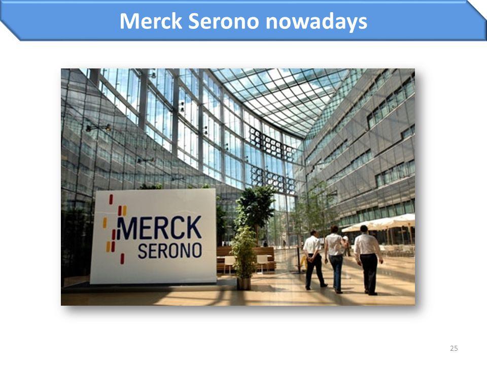 25 Merck Serono nowadays