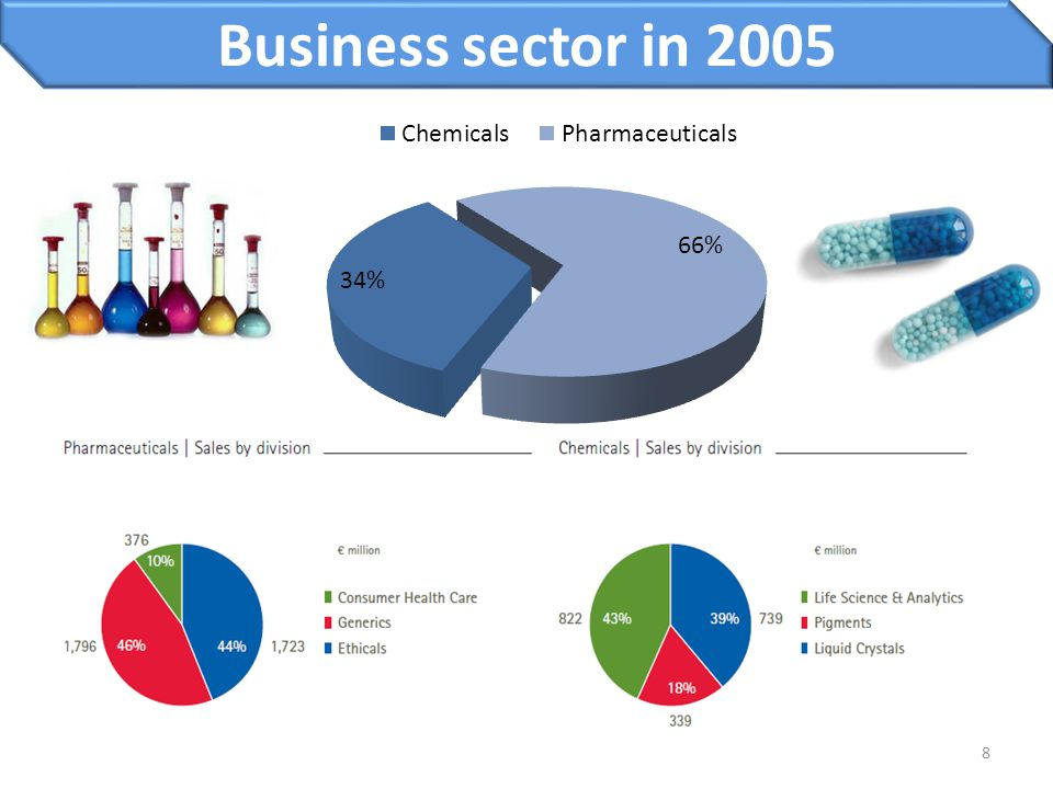 8 Business sector in 2005