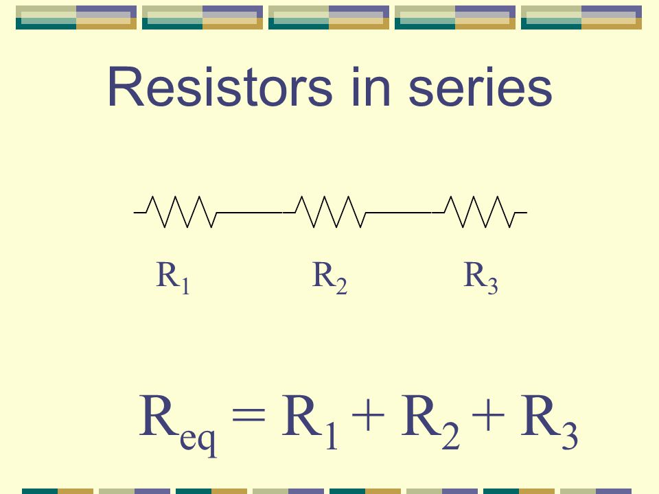 Internal Resistance When voltage is measured with current flowing, it gives V T, equal to e – iR.