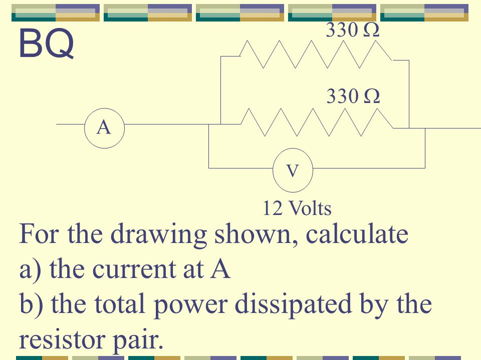 Terminology: galvanometers measure small currents (mA), while ammeters measure large currents (whole Amps) Variable Resistors