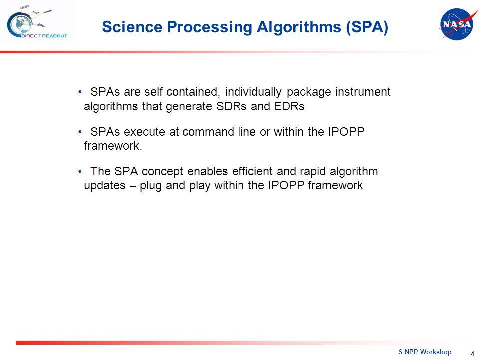 S-NPP Workshop Title IPOPP Architecture