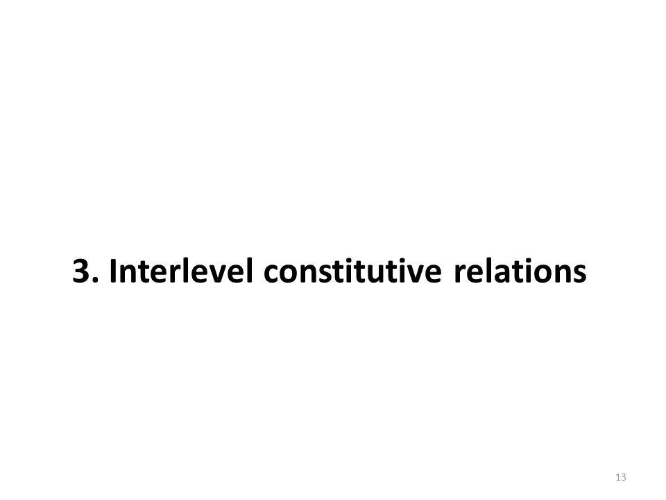 13 3. Interlevel constitutive relations