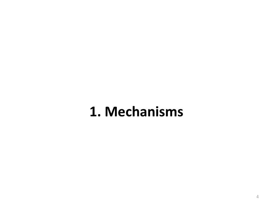 4 1. Mechanisms