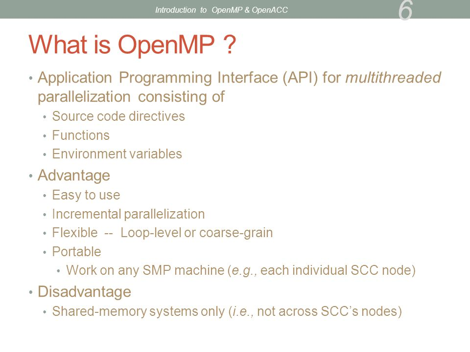 OpenACC on SCC (cont'd) How to run jobs Login nodes have no GPUs.