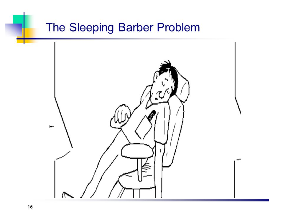 15 The Sleeping Barber Problem