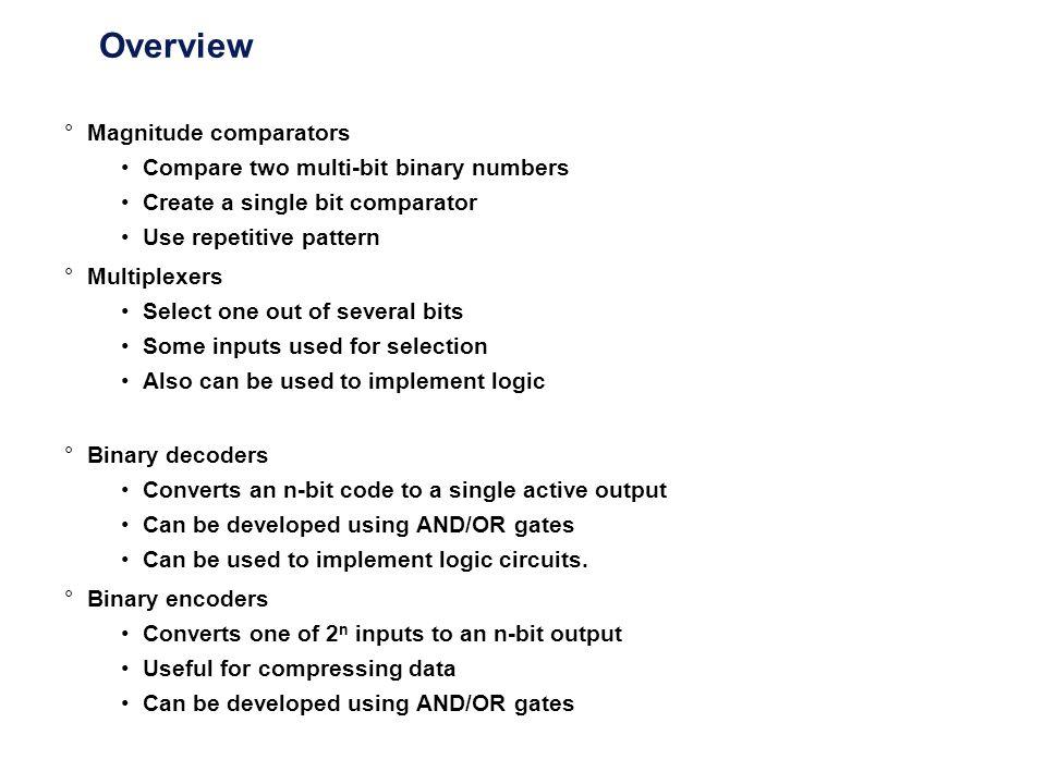 Standard MSI Binary Decoders Example 74138 (3-to-8 decoder) (a) Logic circuit.