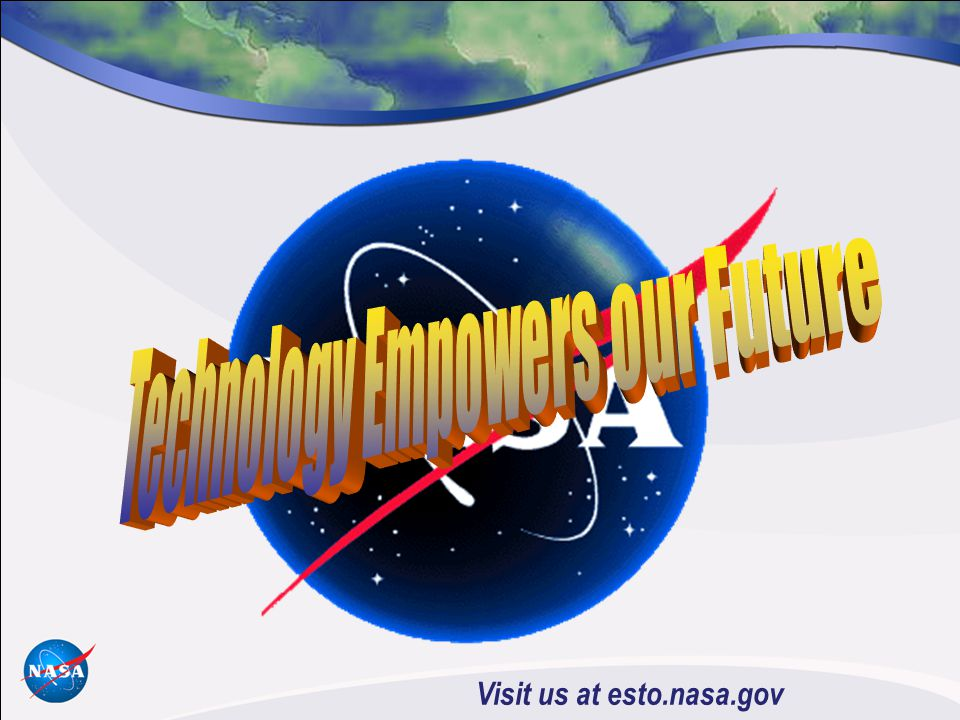Visit us at esto.nasa.gov