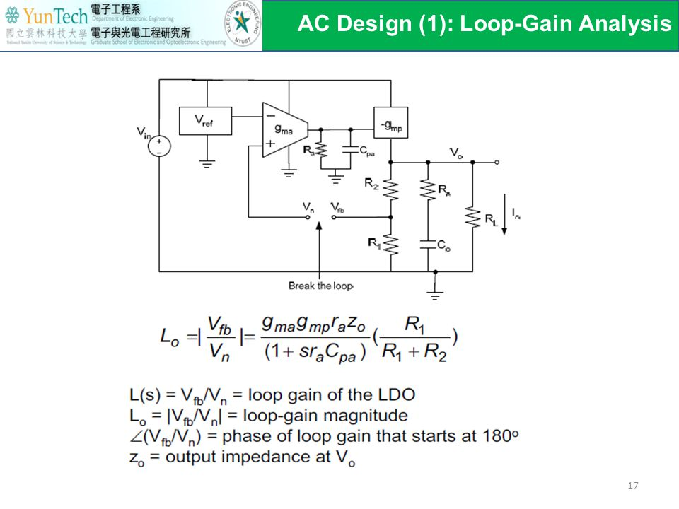 AC Design (1): Loop-Gain Analysis 17