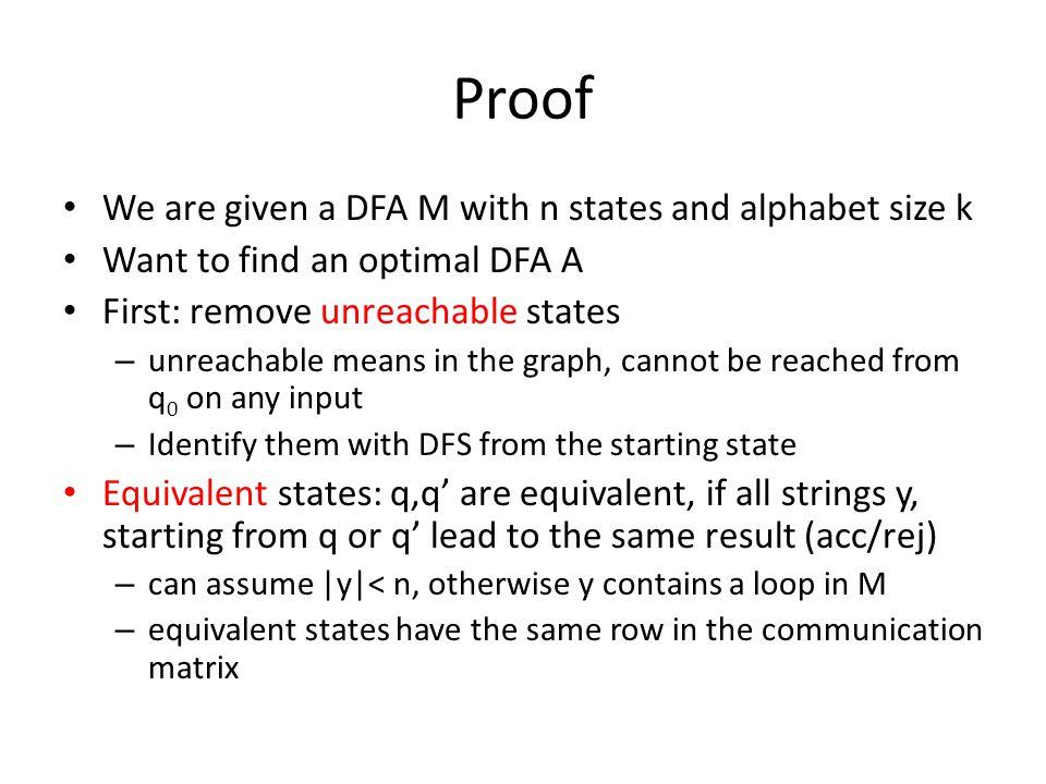 Regular to NFA Union R 1 [ R 2 : – NFA M 1 and M 2, starting state ² -move to start in M 1 and to start in M 2 Concatenation: Kleene: