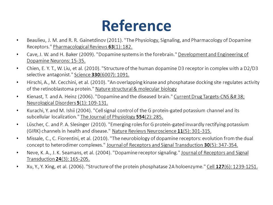 Reference Beaulieu, J. M. and R. R. Gainetdinov (2011).