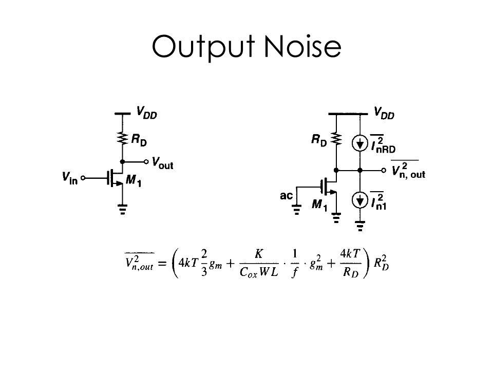 Output Noise