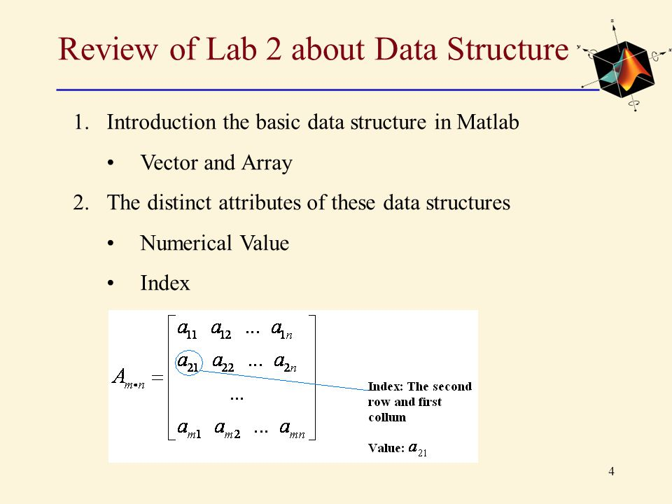 5 Review of Lab 2 about Data Structure 3.