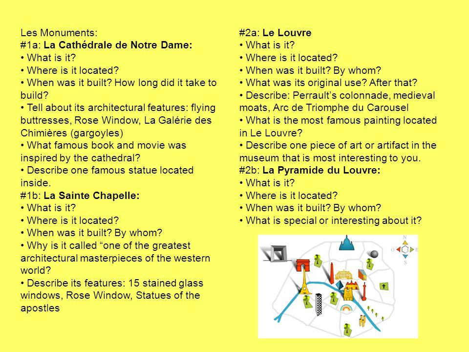 Les Monuments: #1a: La Cathédrale de Notre Dame: What is it.