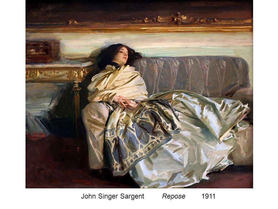 John Singer Sargent Repose 1911