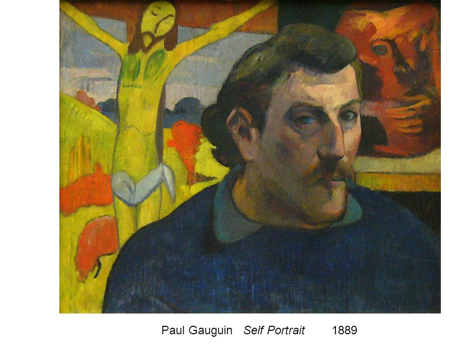 Paul Gauguin Self Portrait 1889