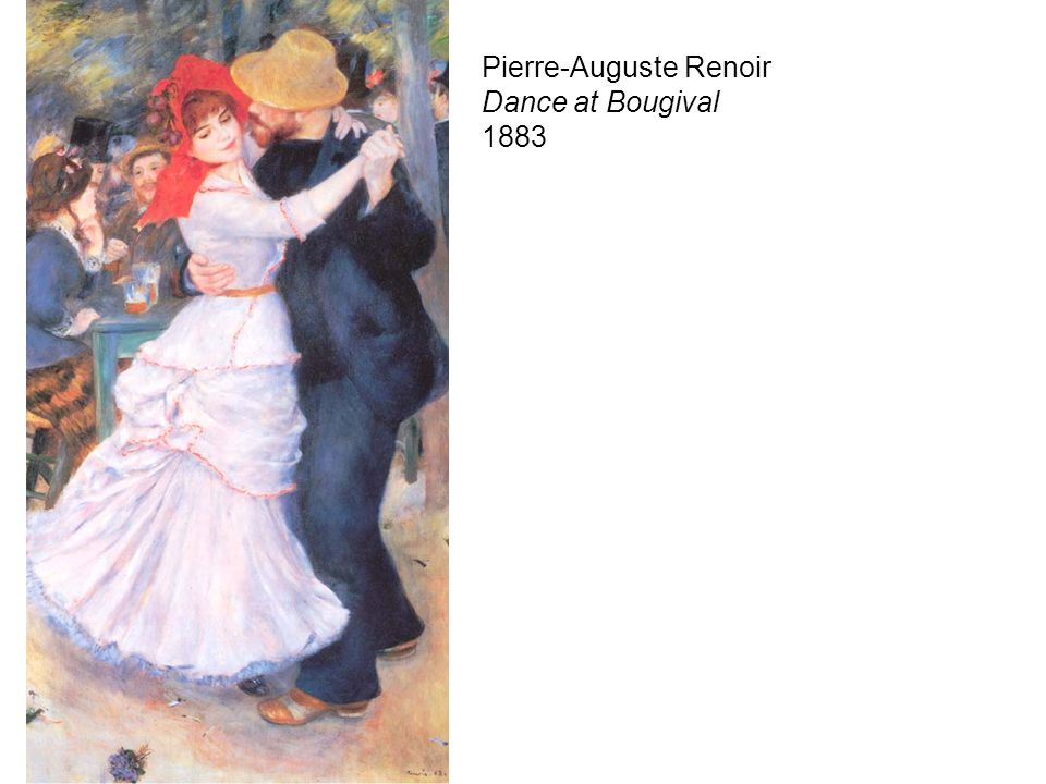 Pierre-Auguste Renoir Dance at Bougival 1883