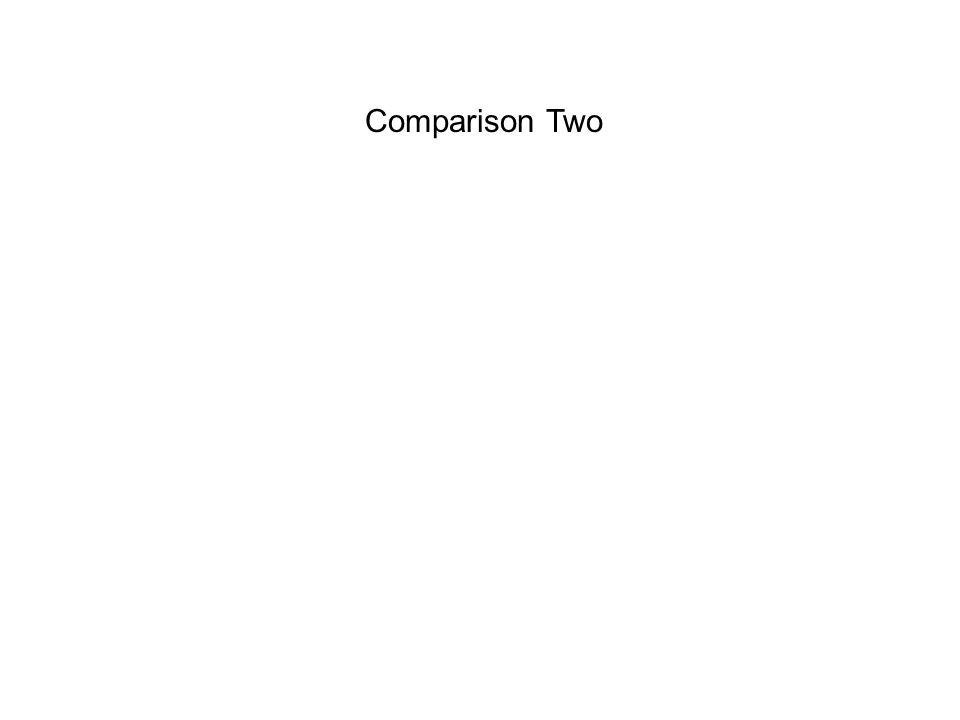Comparison Two