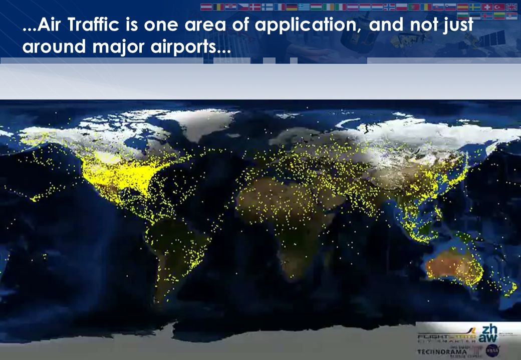 EUM/ Issue...Air Traffic is one area of application, and not just around major airports... Slide: 7