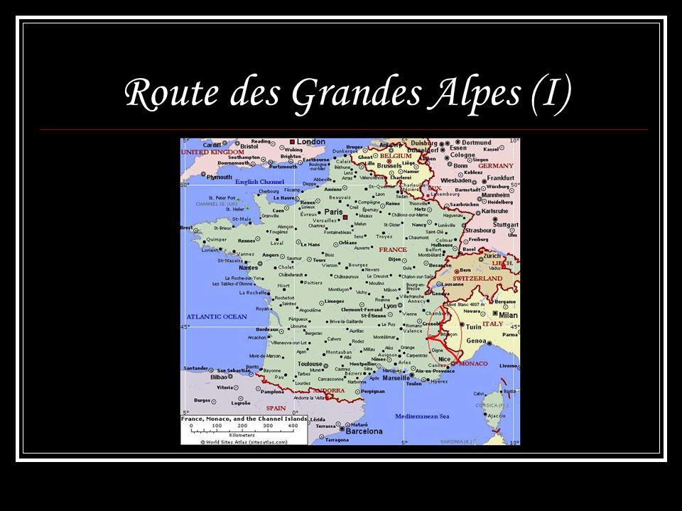 Route des Grandes Alpes (I)