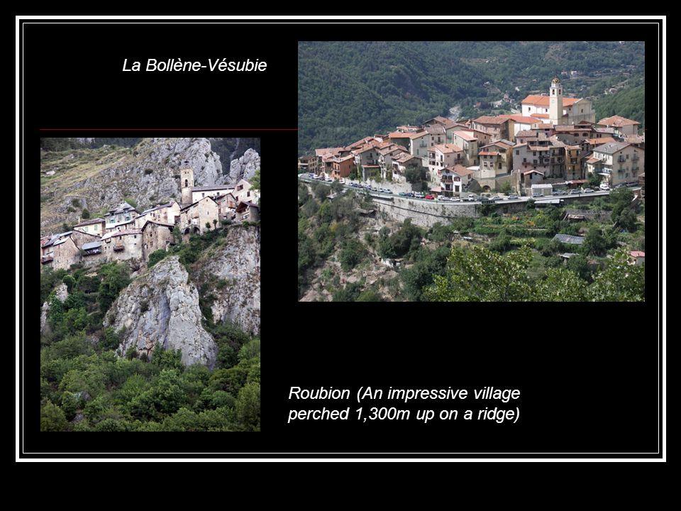 La Bollène-Vésubie Roubion (An impressive village perched 1,300m up on a ridge)