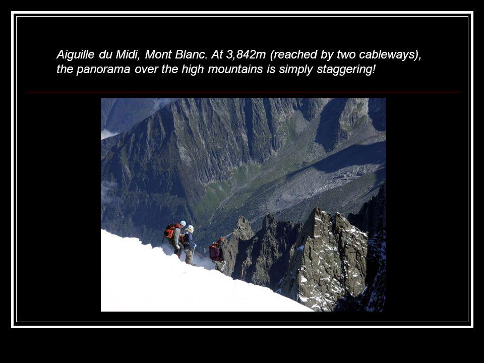Aiguille du Midi, Mont Blanc.