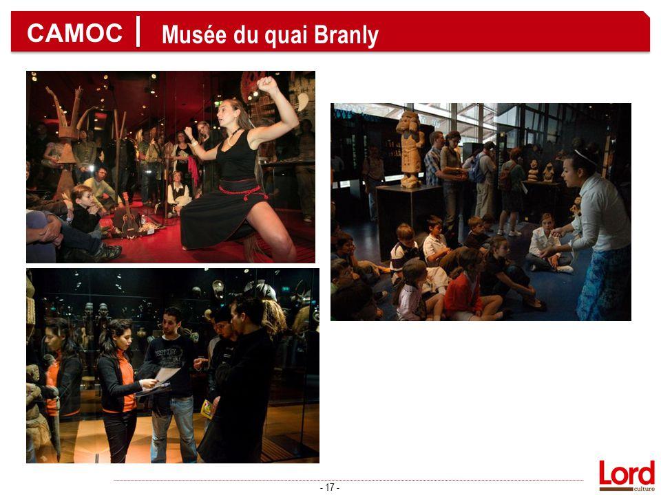 CAMOC Musée du quai Branly - 17 -