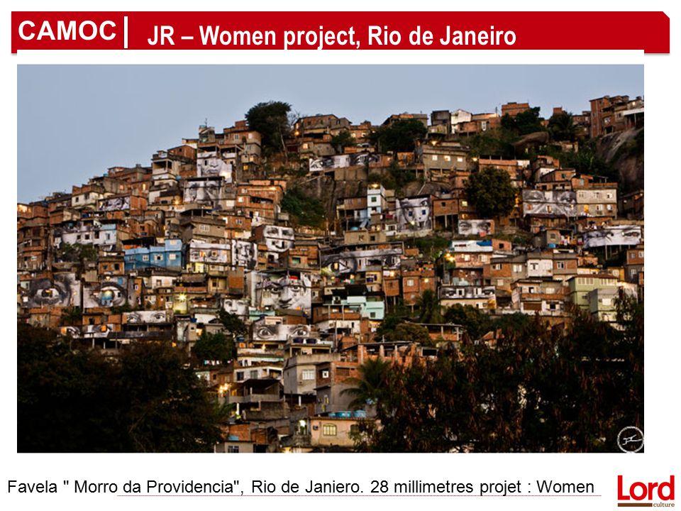 CAMOC JR – Women project, Rio de Janeiro Favela Morro da Providencia , Rio de Janiero.