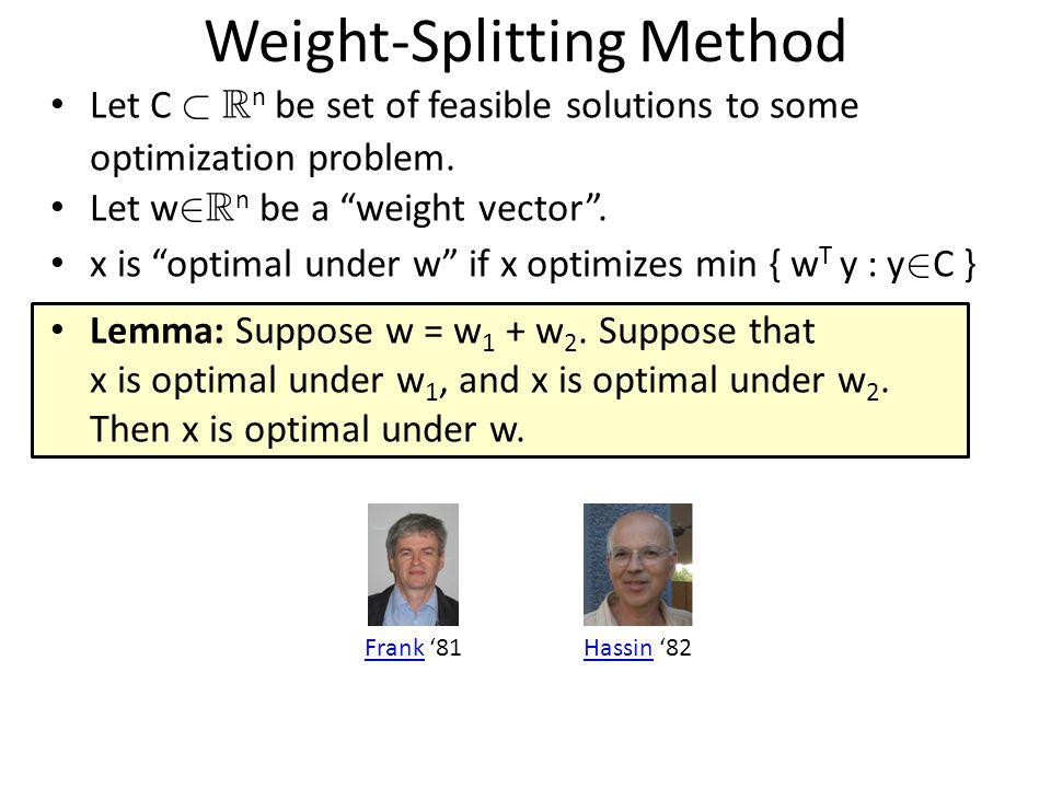 Many optimization problems are hard to solve exactly P NP LP: max { c T x : x 2 P } Maximum Bipartite Matching, Maximum Flow, Min s-t Cut, Shortest Path… IP: max { c T x : x 2 P, x 2 {0,1} n } Maximum cut in graph.