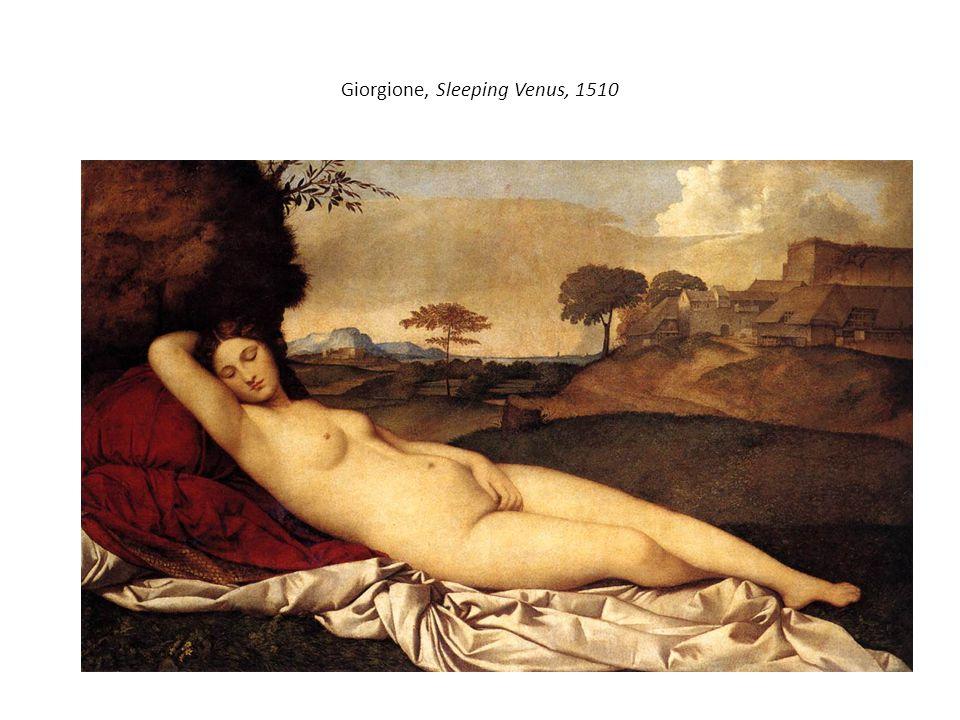 Giorgione, Sleeping Venus, 1510