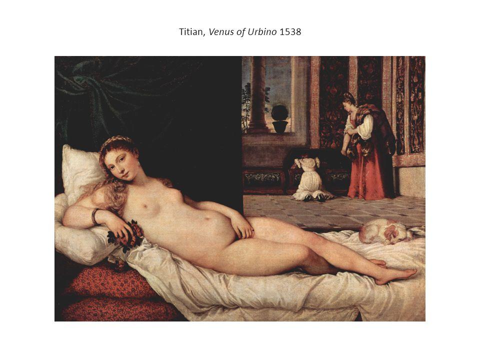 Titian, Venus of Urbino 1538