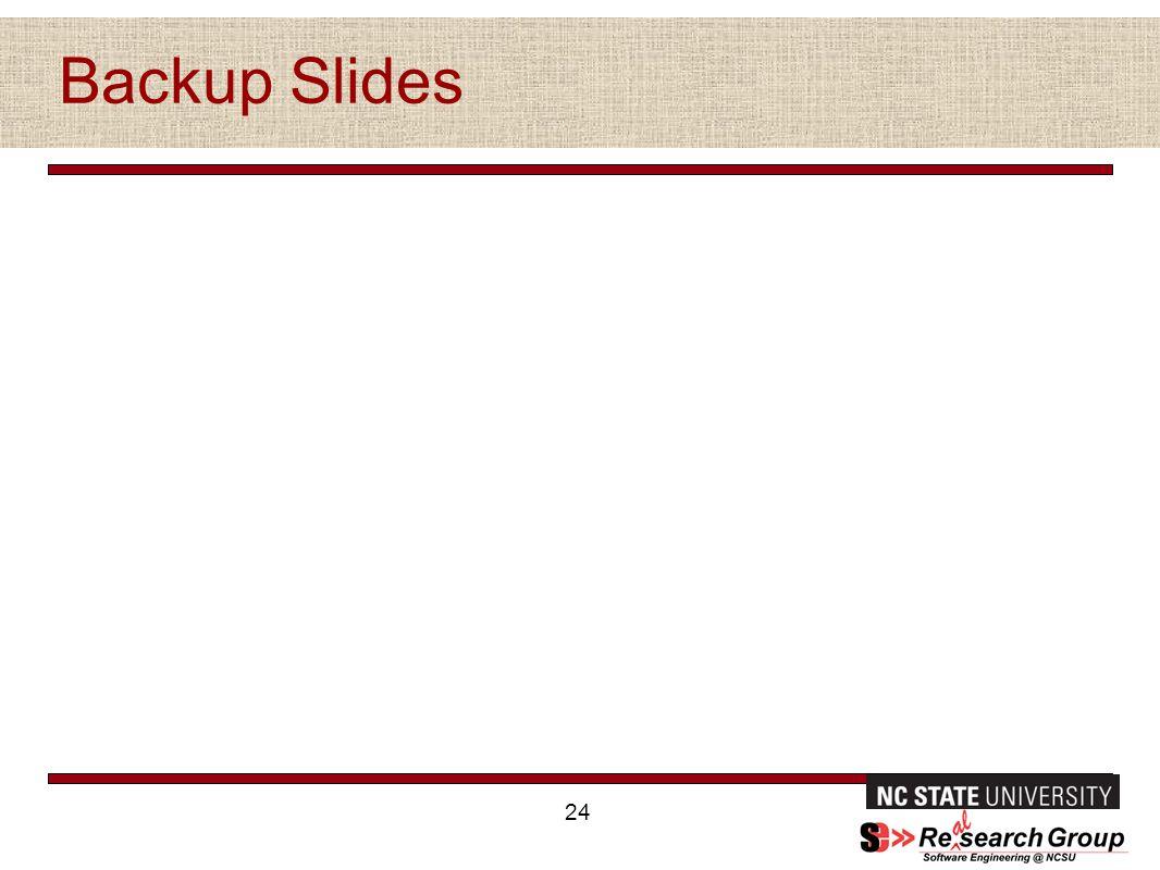 Backup Slides 24