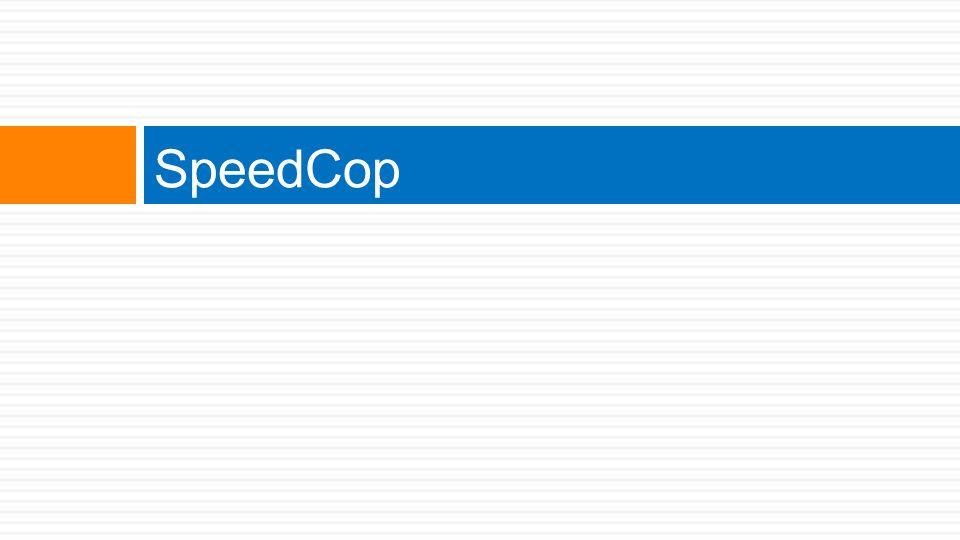 SpeedCop