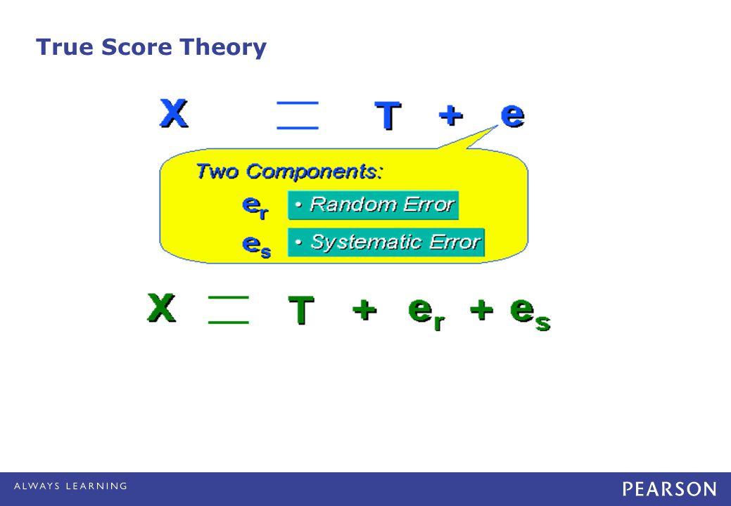 True Score Theory