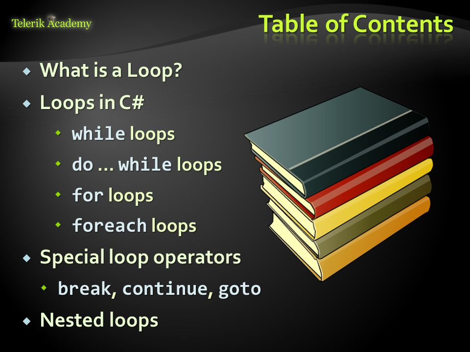  What is a Loop.