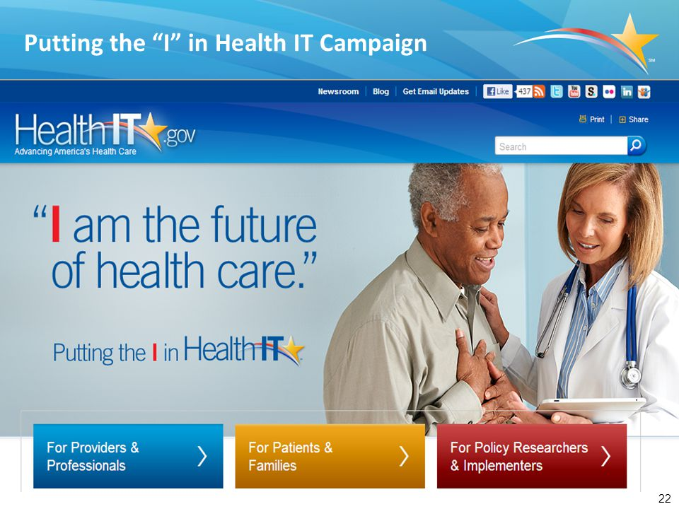 "22 Putting the ""I"" in Health IT Campaign"
