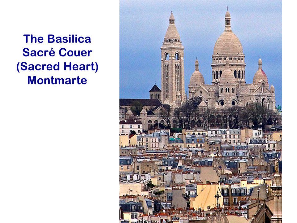 The Basilica Sacré Couer (Sacred Heart) Montmarte