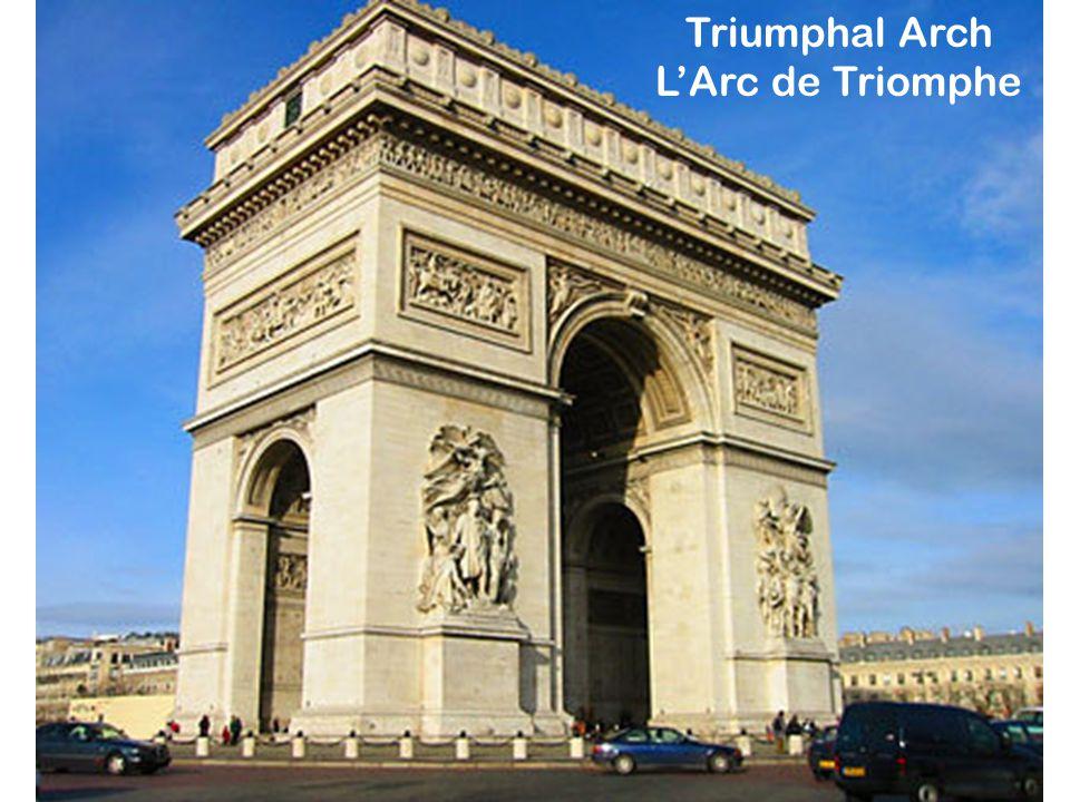 Triumphal Arch L'Arc de Triomphe