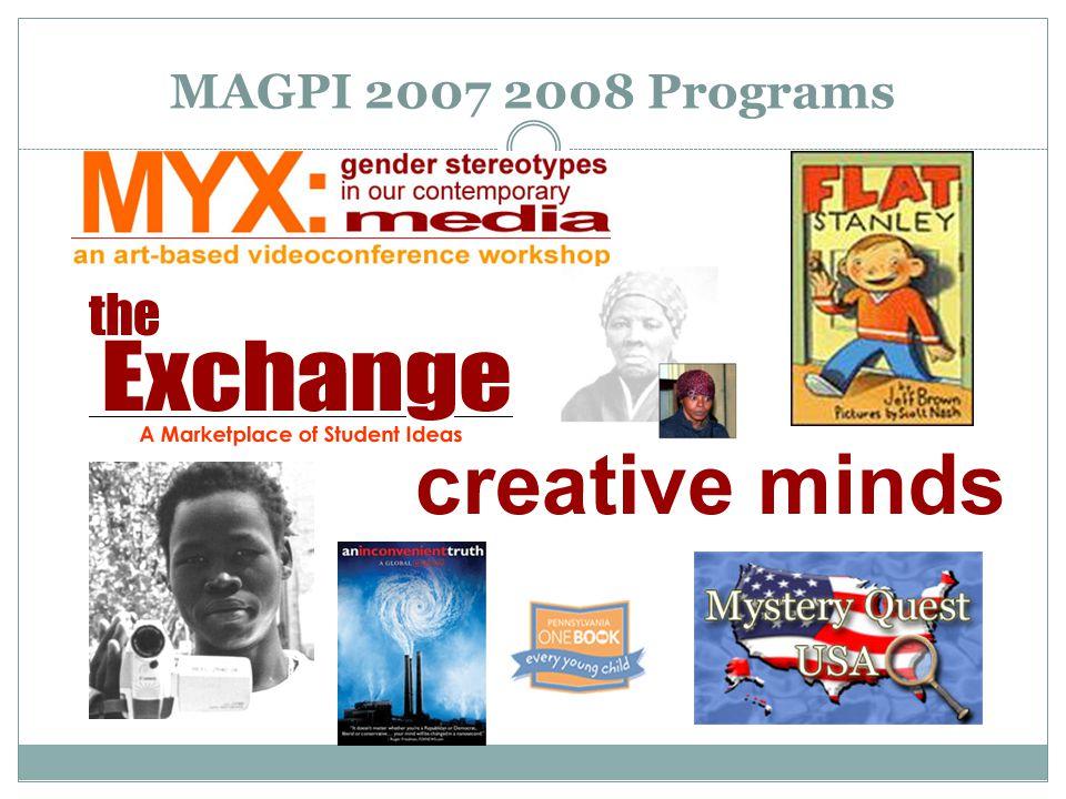 MAGPI 2007 2008 Programs