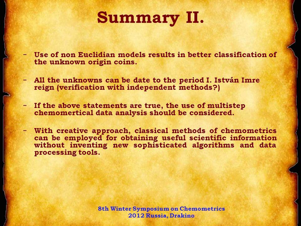 Summary II.