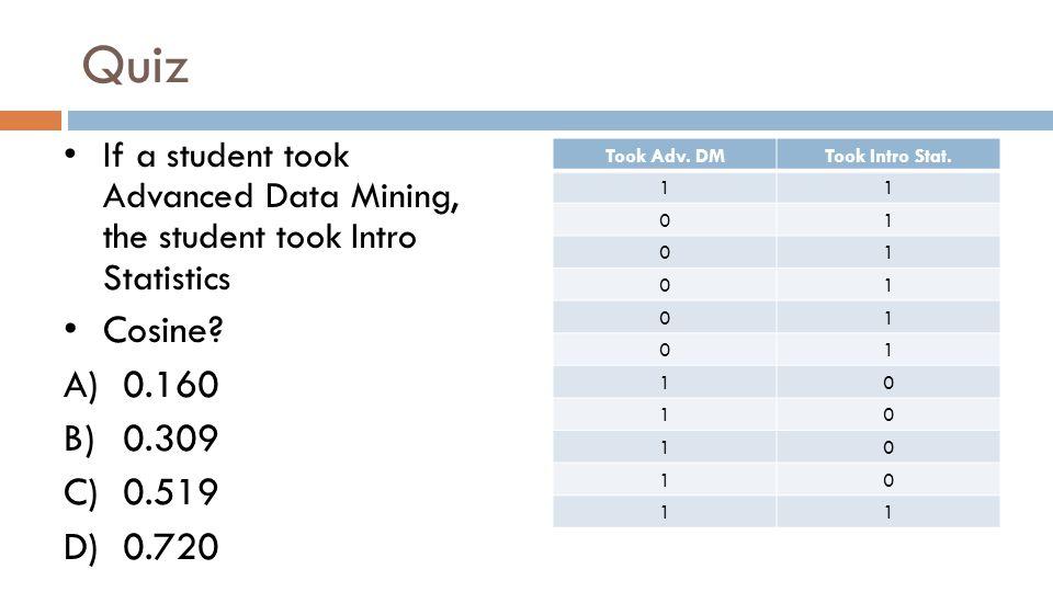 Quiz Took Adv.DMTook Intro Stat.