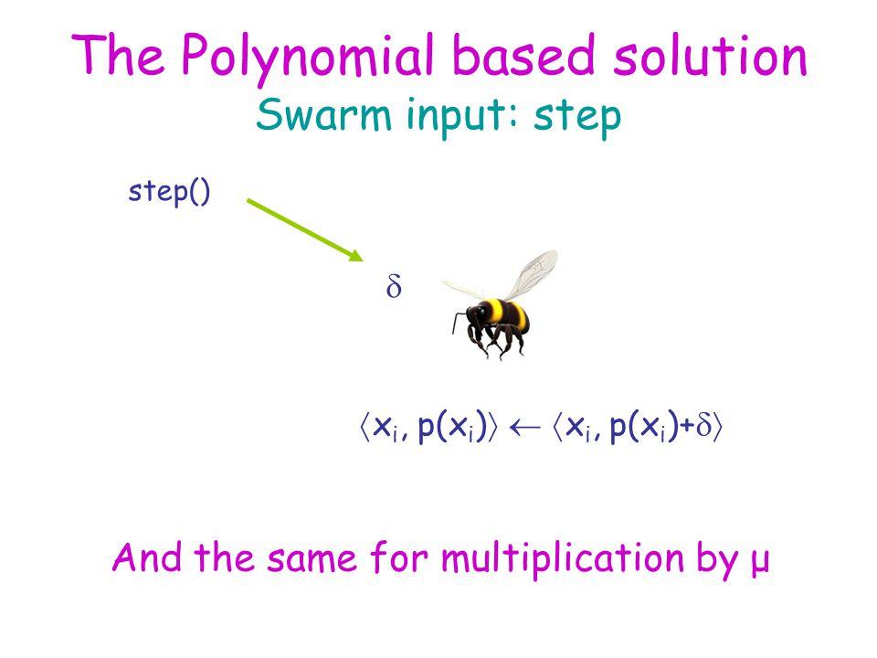 The Polynomial based solution input: regain consistency request regainConsistencyReq() leader  x i, p(x i ) 