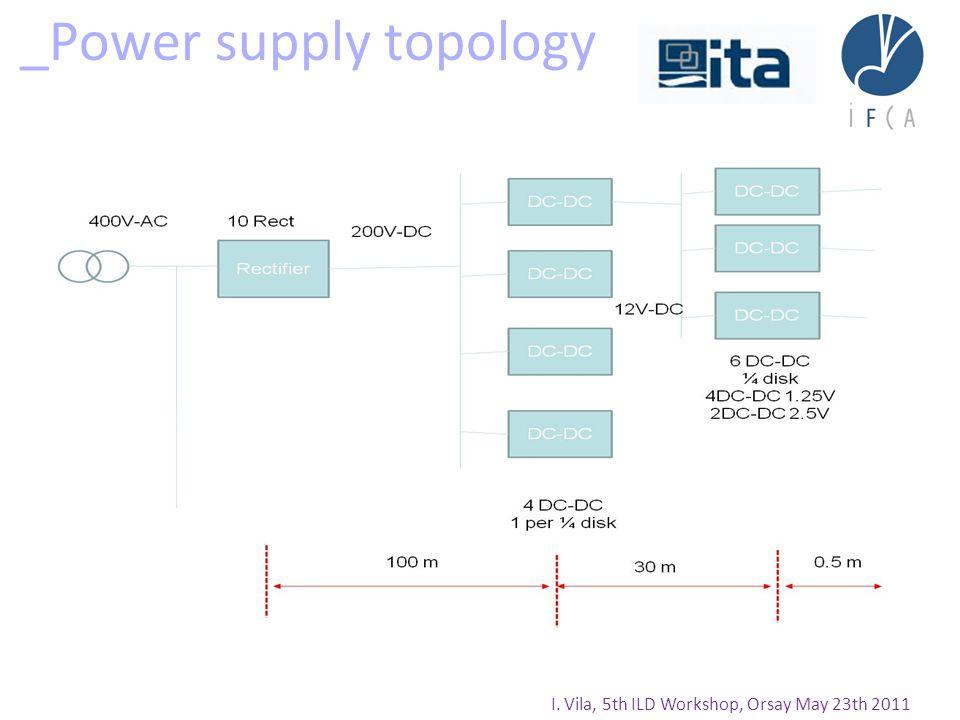 _Power supply topology I. Vila, 5th ILD Workshop, Orsay May 23th 2011