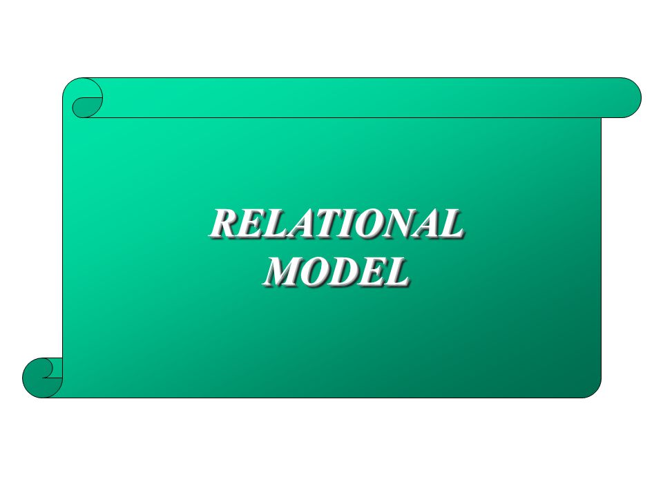 RELATIONALMODELRELATIONALMODEL
