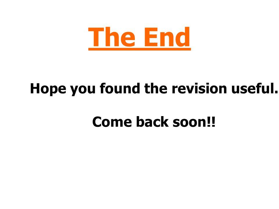 The Mole Click here to repeat the Mole Click here to return to the Menu Click here to End.