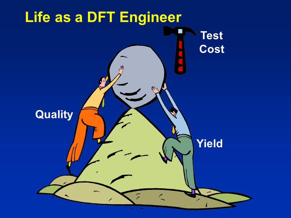 Life as a DFT Engineer Yield Quality Test Cost