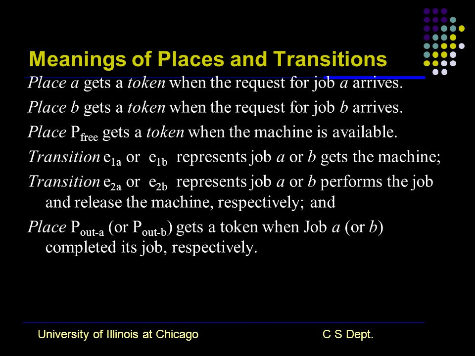 University of Illinois at ChicagoC S Dept.