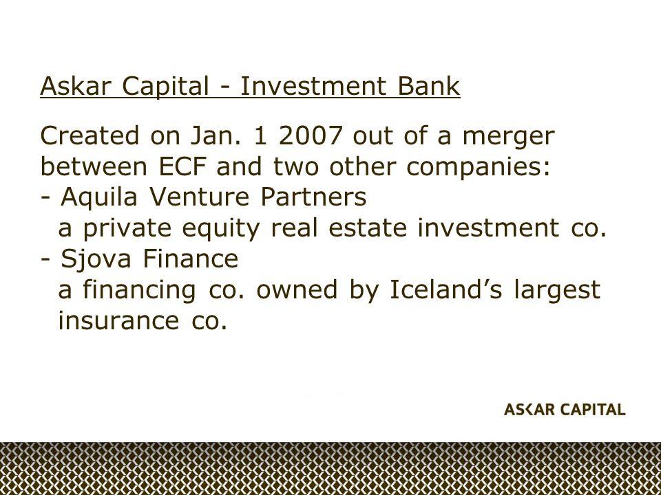 Askar Capital - Investment Bank Created on Jan.
