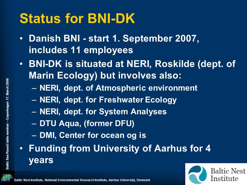 Baltic Sea Round table seminar – Copenhagen 17.